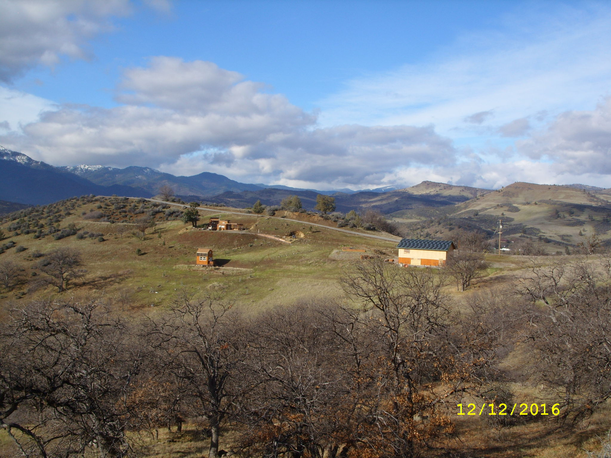 Development Of Our Land And Home In Hornbrook California